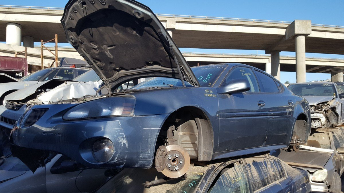 2007 Pontiac Grand Prix For Parts Abc Auto Parts